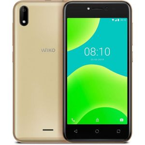 SMARTPHONE Wiko Smartphone Y50 8 Go 5 pouces Or 3G Double SIM