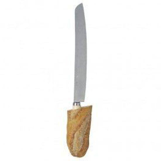 couteau baguette en bois d olivier fabrication française Couteau à pain