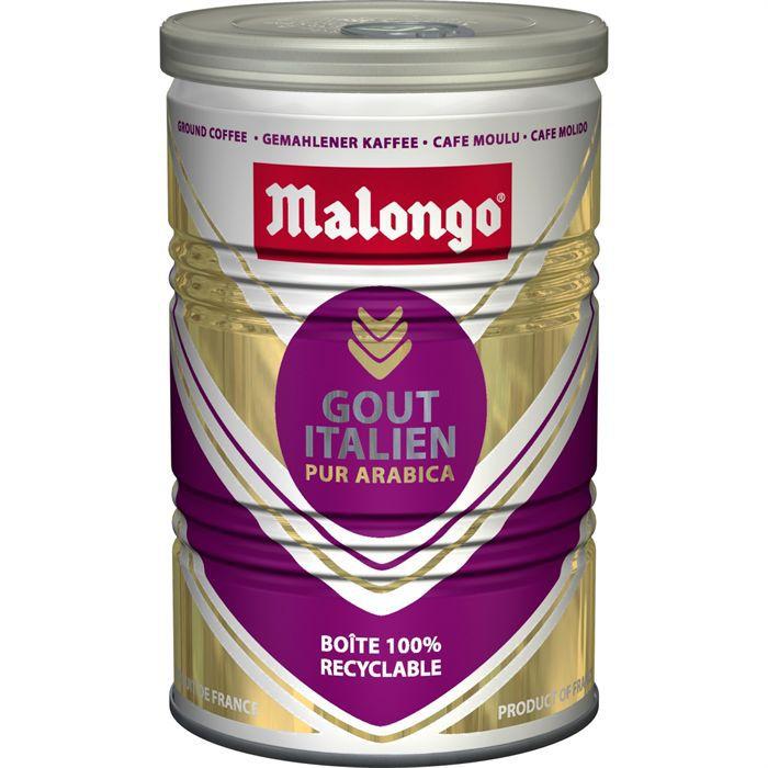 MALONGO Café moulu Goût italien - 250 g