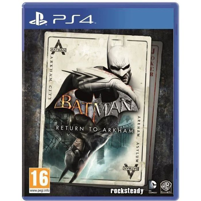 Batman : Return to Arkham Jeu PS4
