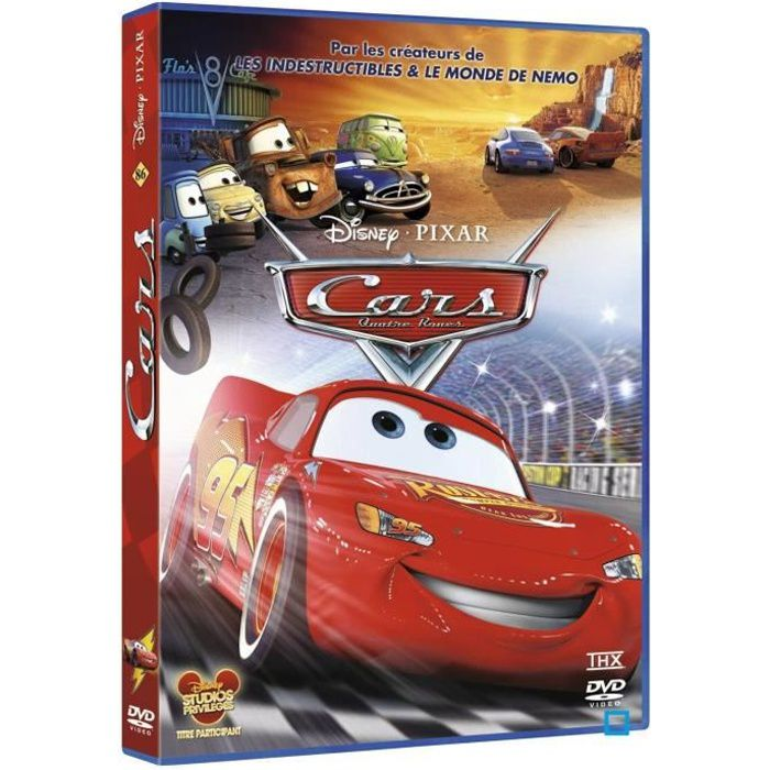 dvd cars disney en dvd dessin anim pas cher bonnie hunt cheech marin joe ranft larry the. Black Bedroom Furniture Sets. Home Design Ideas