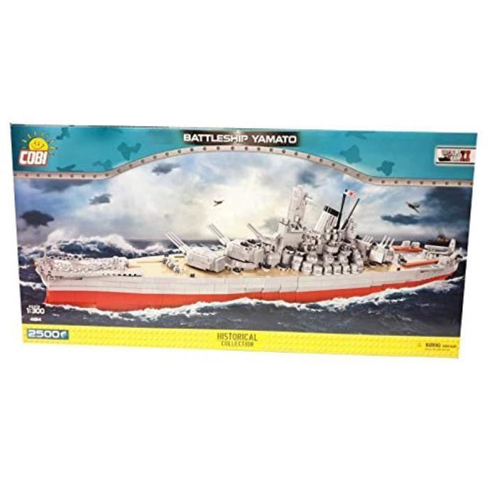 Jeu D'Assemblage PIUD2 COBI, 4814 - Battleship Yamato 2500 Briques de construction