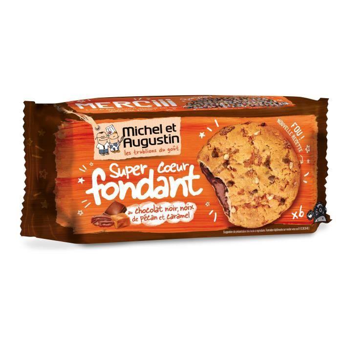 Cookies cœur fondant chocolat 180g Michel et Augustin