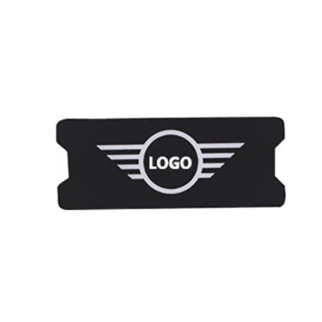 Support de téléphone universel pour Mini Cooper, accessoires pour voiture JCW Countryman R55 R56 R60 F Logo Black