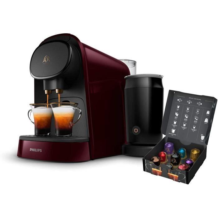 CAFETIERE Philips L'OR Barista LM8014-80 Cafeti&egravere &agrave Capsule Single-Double 19 Bars Pression R&eacuteservoir 1L No456