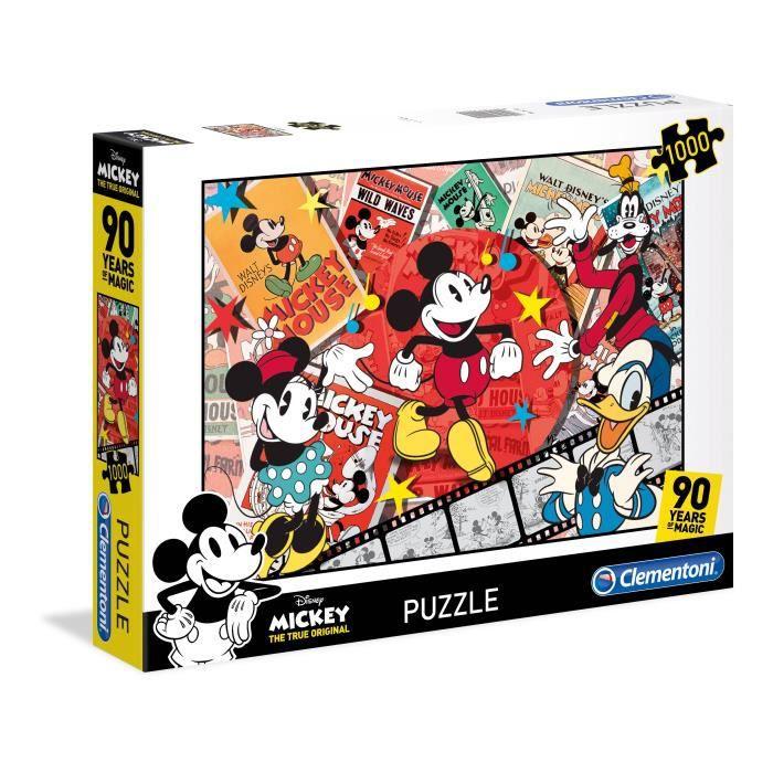 Clementoni 39472, Dessins animés, Enfants et adultes, Mickey Mouse, Mickey Mouse, Garçon-Fille, Multicolore