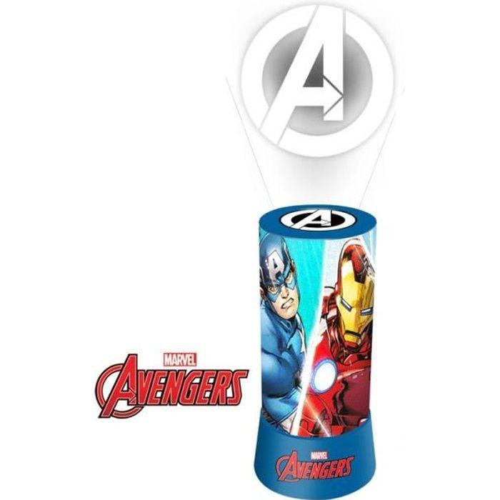 Disney lampe de nuit Avengers leds garçons 20 cm