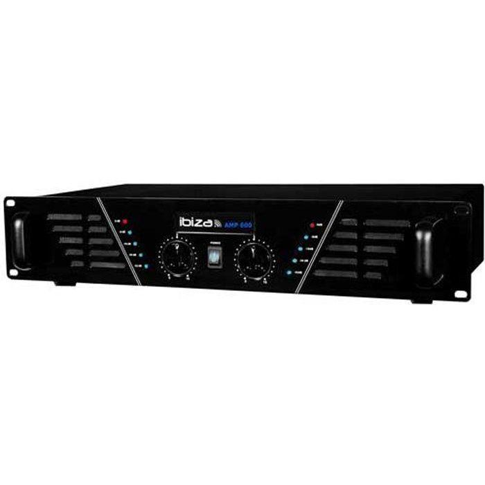 Amplificateur sono 2 x 480 W Max AMP-600-S
