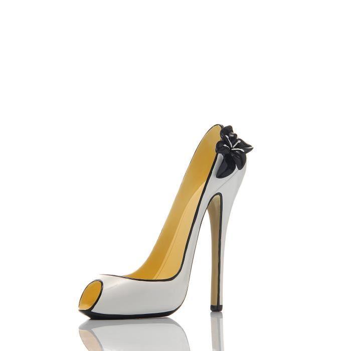 LUDI-VIN Porte Bouteille Chaussure Black & White