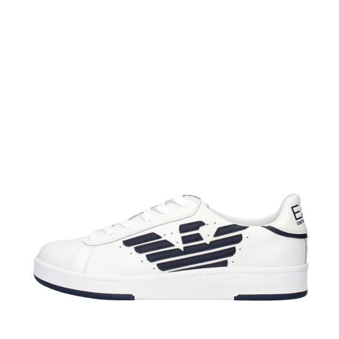 Ea7 X8X043 chaussures de tennis Homme BLANC