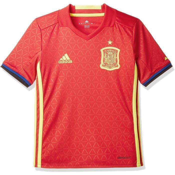 Maillot football Enfant Espagne Domicile Adidas Rouge Neuf