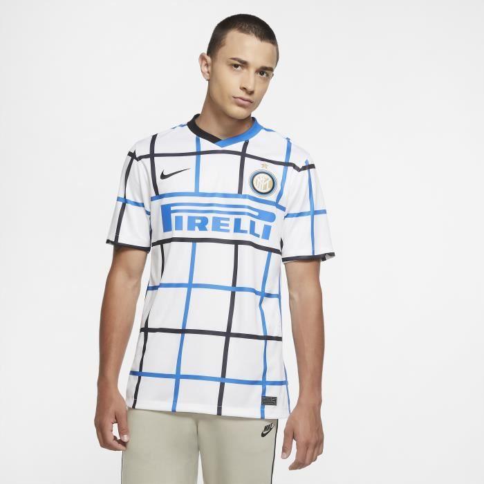 Maillot extérieur Inter Milan 2020/21 - blanc/noir - S