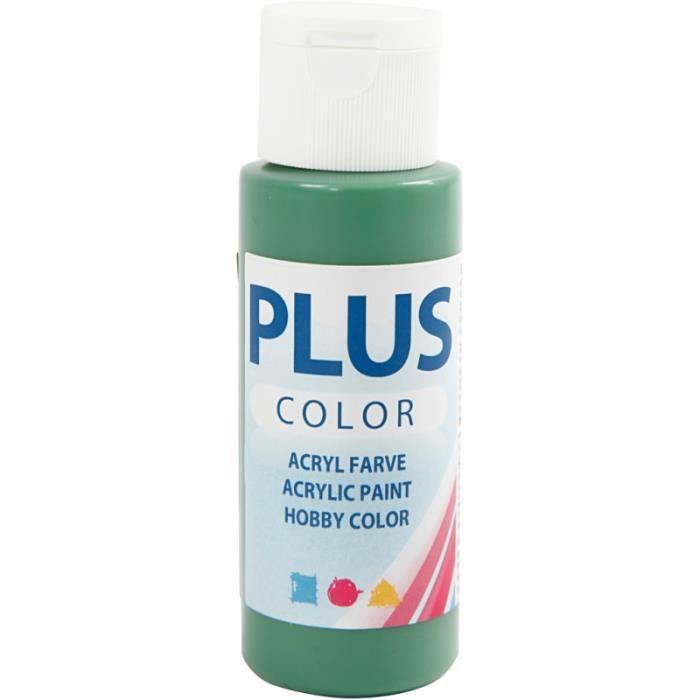 Peinture acrylique Plus Color - 60 ml Vert Forêt