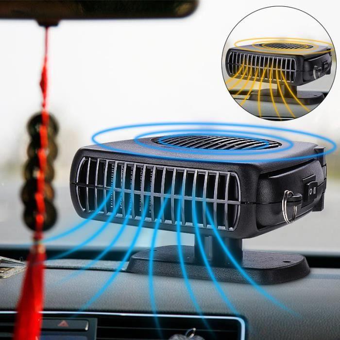 TEMPSA Ventilateur Chauffage Dégivreur Réglable Heater Cooler Fan Auto Voiture 12V 150W