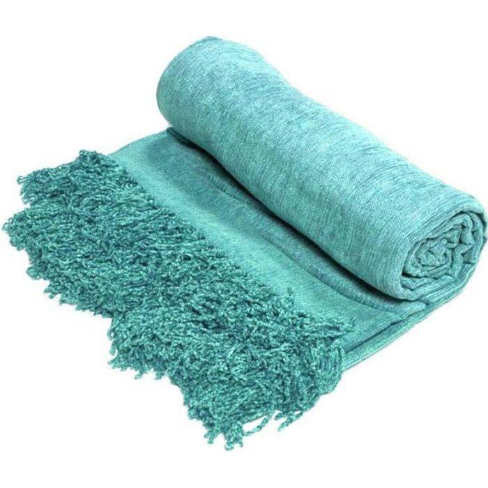 Plaid BANGALORE Turquoise