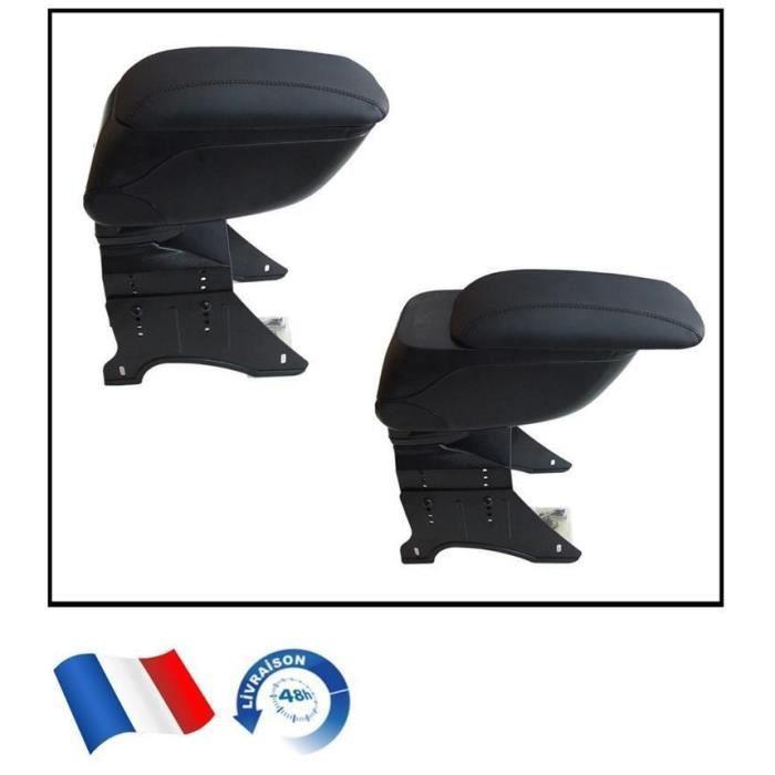 Universel Console Accoudoir Noir Pour CITROEN PICASSO C2