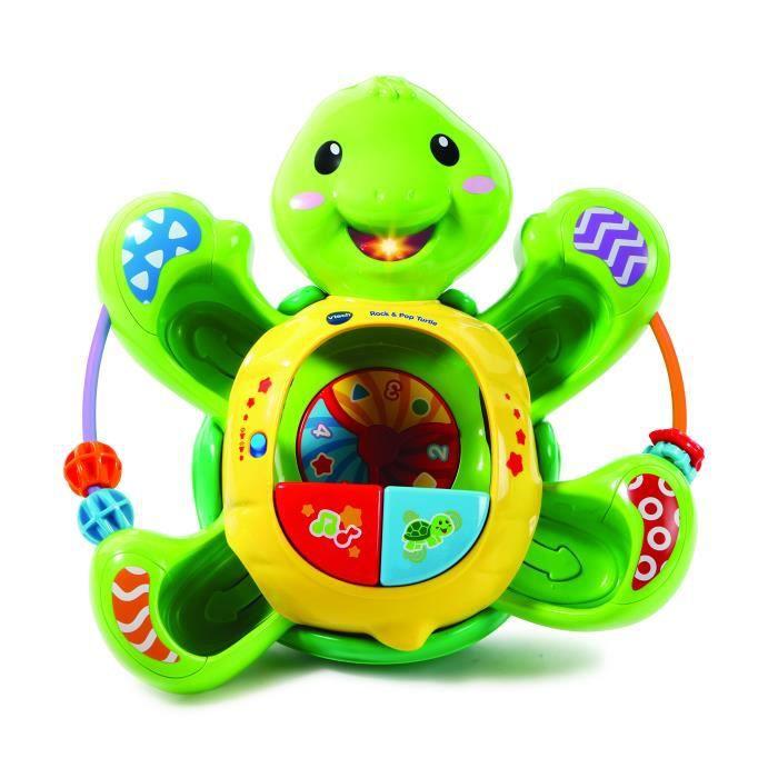 Poupon VTECH Baby Kids Rock & Pop Turtle M9TTL