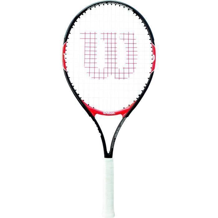 SHOT CASE - WILSON Raquette de tennis Federer 25 - Junior - Noir et rouge