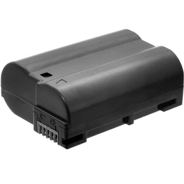 Batterie EN-EL15 2.400 mAh pour Nikon D700, D7100, D7200.