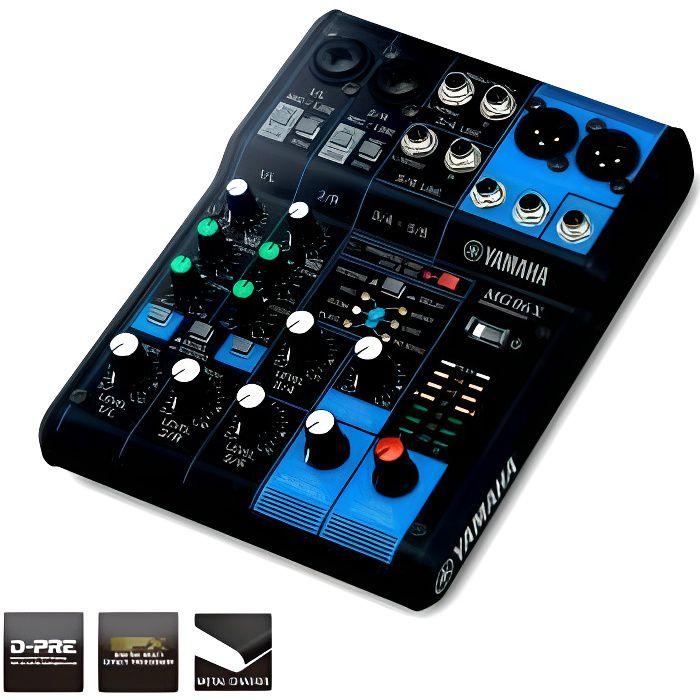 Yamaha MG06X - Table de mixage 6 canaux avec effet