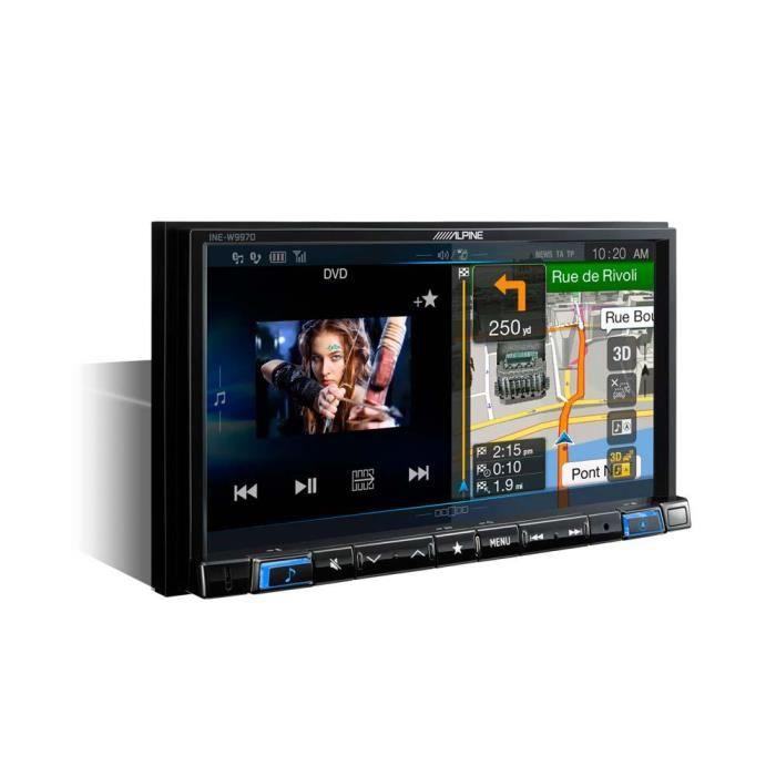 GPS AUTO Systeme de navigation professionnel tactile 7 pouc