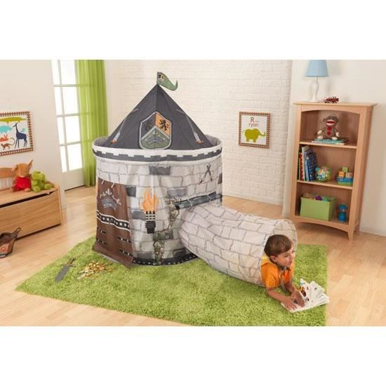 tente de jeux pour enfant decor chateau fort tunne achat vente tente tunnel d 39 activit. Black Bedroom Furniture Sets. Home Design Ideas