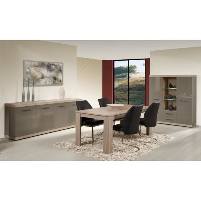 Salle a manger laquee 3 pieces achat vente salle manger salle a manger - Salle a manger soldes ...
