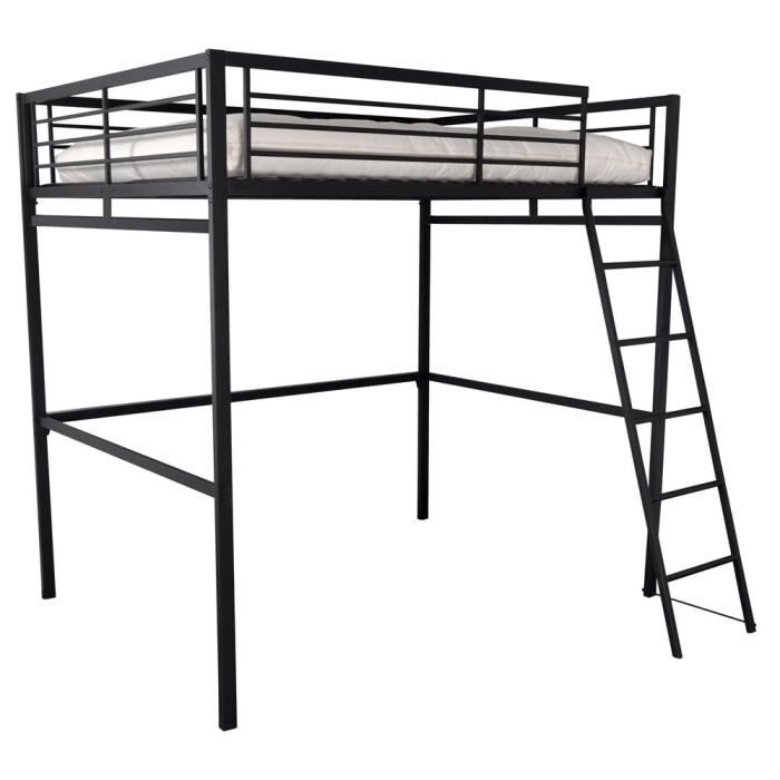 lit mezzanine en 140 cm graff achat vente lit mezzanine lit mezzanine en 140 cm graff. Black Bedroom Furniture Sets. Home Design Ideas