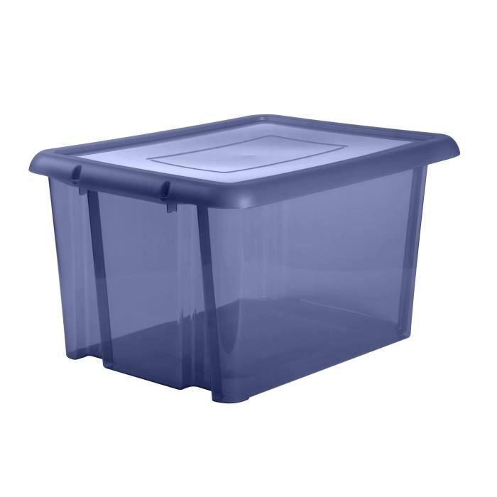 BOITE DE RANGEMENT EDA PLASTIQUE Boîte de rangement Funny Box 80 L -