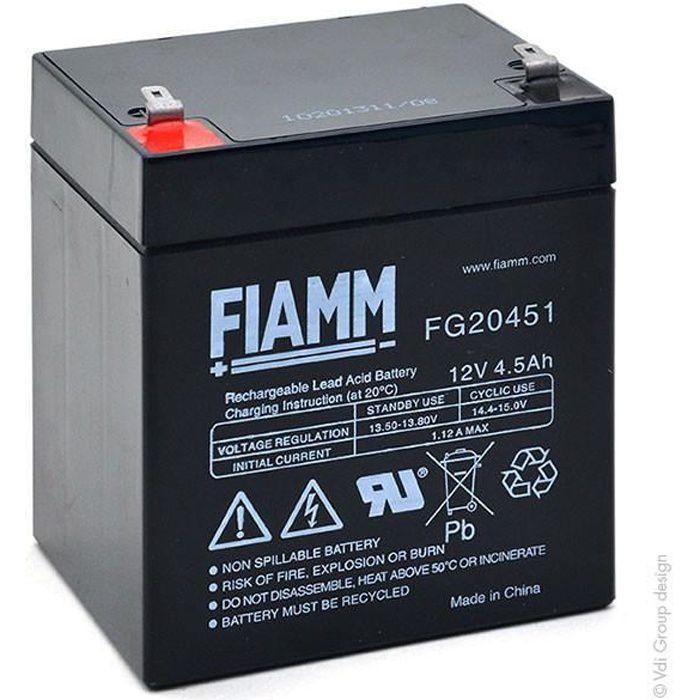 Ce Produit est Un Article de Remplacement de la Marque AJC/® Batterie Fiamm FG21803 12V 18Ah UPS