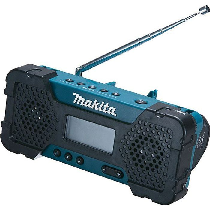 makita radio portable de chantier 10 8v li ion radio cd cassette avis et prix pas cher. Black Bedroom Furniture Sets. Home Design Ideas