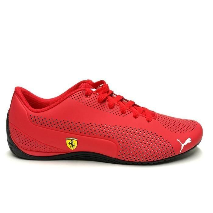 chaussure puma rouge et blanc