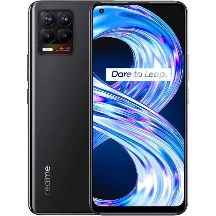 Smartphone REALME 8 6Go+128Go Noir