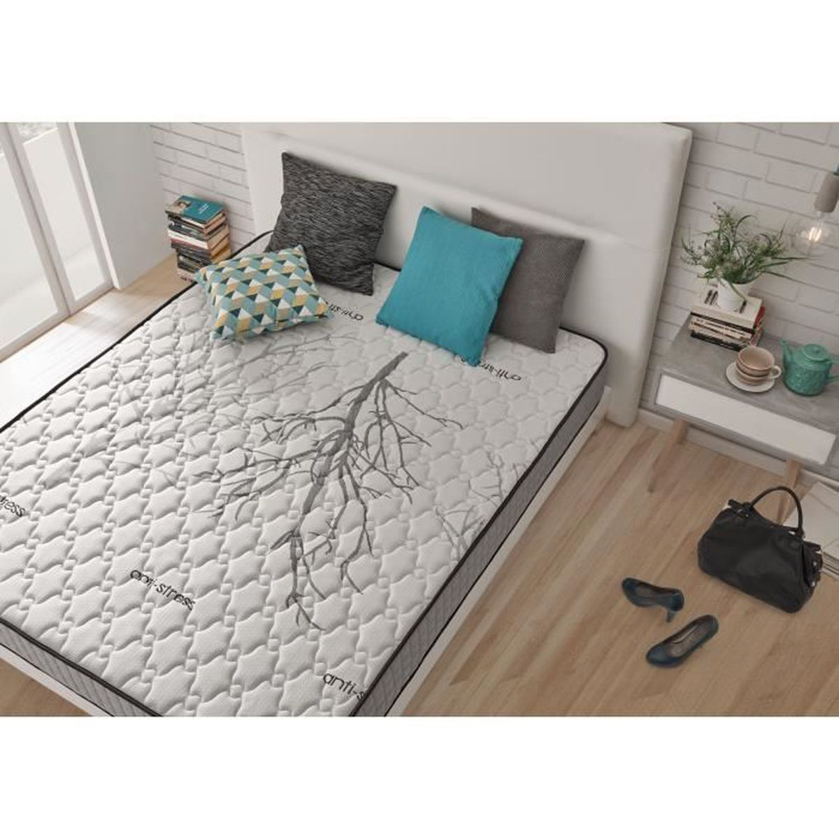 matelas 80 x 190 achat vente pas cher. Black Bedroom Furniture Sets. Home Design Ideas
