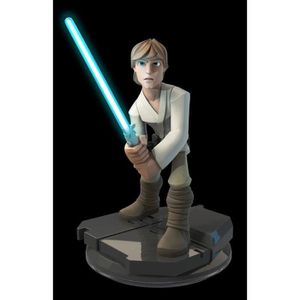 FIGURINE DE JEU Figurine Ligth-Up Luke Skywalker Disney Infinity 3