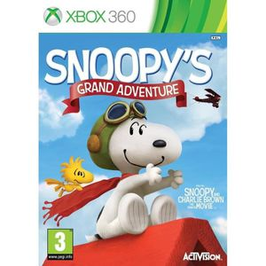 JEUX XBOX 360 The Peanuts Movie: Snoopy's Grand Adventure (Xbox