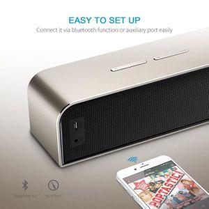 ENCEINTE NOMADE Alpexe® Haut-parleur Stéréo 20W Bluetooth 4.0 Ence