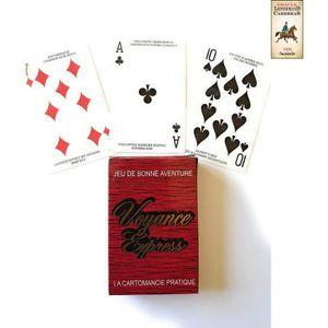CARTES DE JEU 1 Jeu de Tarot + 1 Oracle Lenormand 1926 - Tarot V