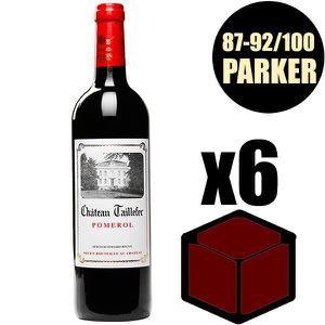 VIN ROUGE X6 Château Taillefer 2016 75 cl AOC Pomerol Vin Ro