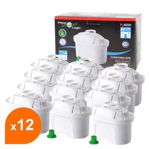 comp. BRITA Maxtra Pearlco Filtre à Eau Filtre Cartouche Magnésium UNIMAX 12