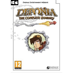 JEU PC DEPONIA : THE COMPLETE JOURNEY [IMPORT ALLEMAND…