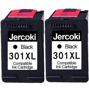 CARTOUCHE IMPRIMANTE 2 Noir Cartouches d'encre reconditionnée pour HP 3