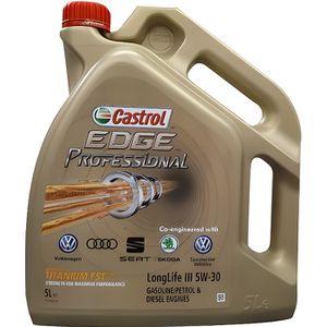 HUILE MOTEUR Castrol Edge Professional 5 W30 5 litres VW50400/5