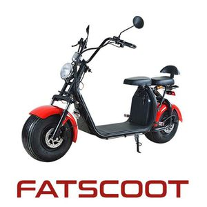 SCOOTER FatScoot : Scooter électrique 1500W Li-on 60V 20A.