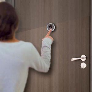INTERPHONE - VISIOPHONE EXTEL Interphone vidéo judas de porte couleur diag