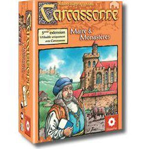 JEU SOCIÉTÉ - PLATEAU Carcassonne Extension 5 : Maire Et Monastères