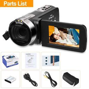 CAMÉSCOPE NUMÉRIQUE Caméscope Pro Caméra Vidéo Numérique DV 1080P FULL