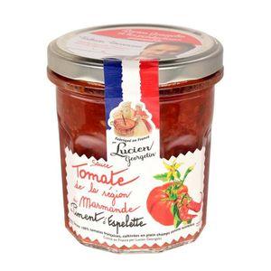 SAUCE CHAUDE Sauce tomate piment d'espelette 300G LES RECETTES