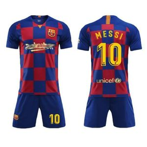 MAILLOT FOOT AMERICAIN Barca Lionel NO.10 Messi Jersey Maillots Foot et S
