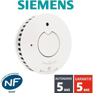 DÉTECTEUR DE FUMÉE Détecteur de fumée NF Siemens Delta Reflex 5TC1292
